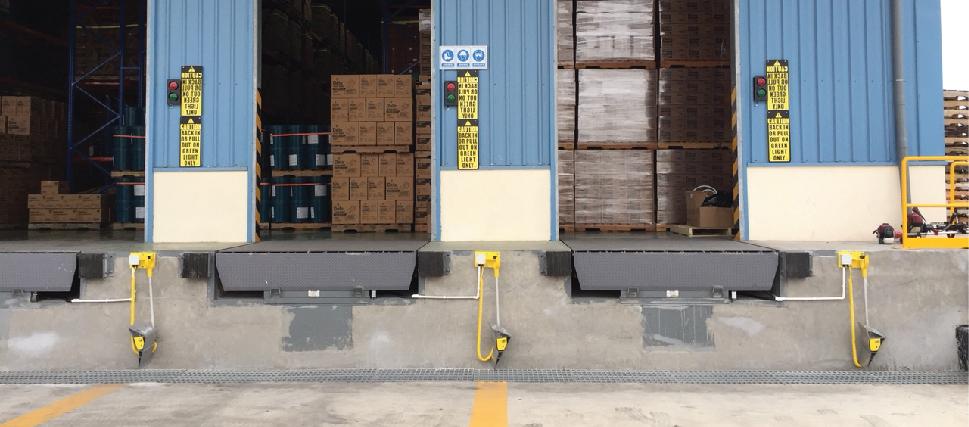 Quy trình hoạt động của Wheel Chock tại khu vực xuất nhập hàng
