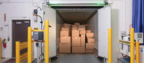 Hệ thống tiếp cận để đảm bảo an toàn tại khu vực xuất nhập hàng
