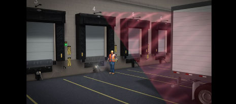 Enhancing safety with lights and alarms at the loading dock
