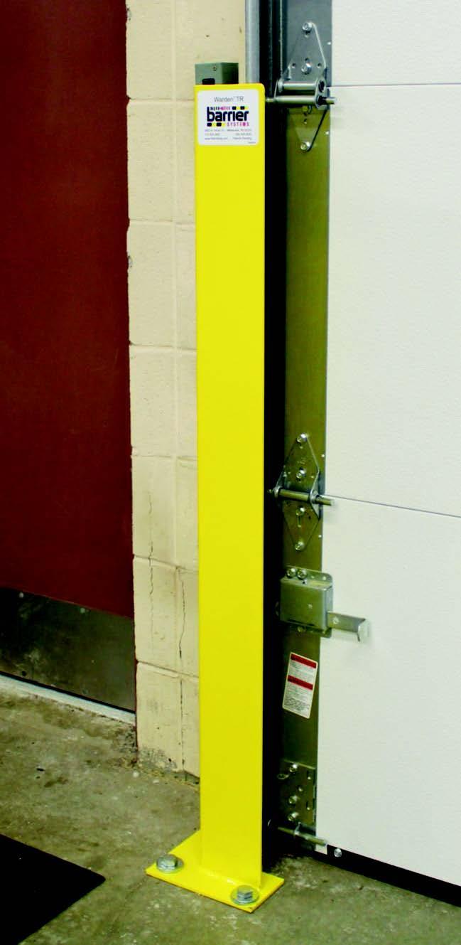 Warden TR- Nẹp chắn bảo vệ khung cửa Sectional Doors
