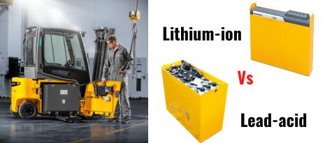 Lựa Chọn Bình Điện Lead Acid Hoặc Lithium Cho Xe Nâng