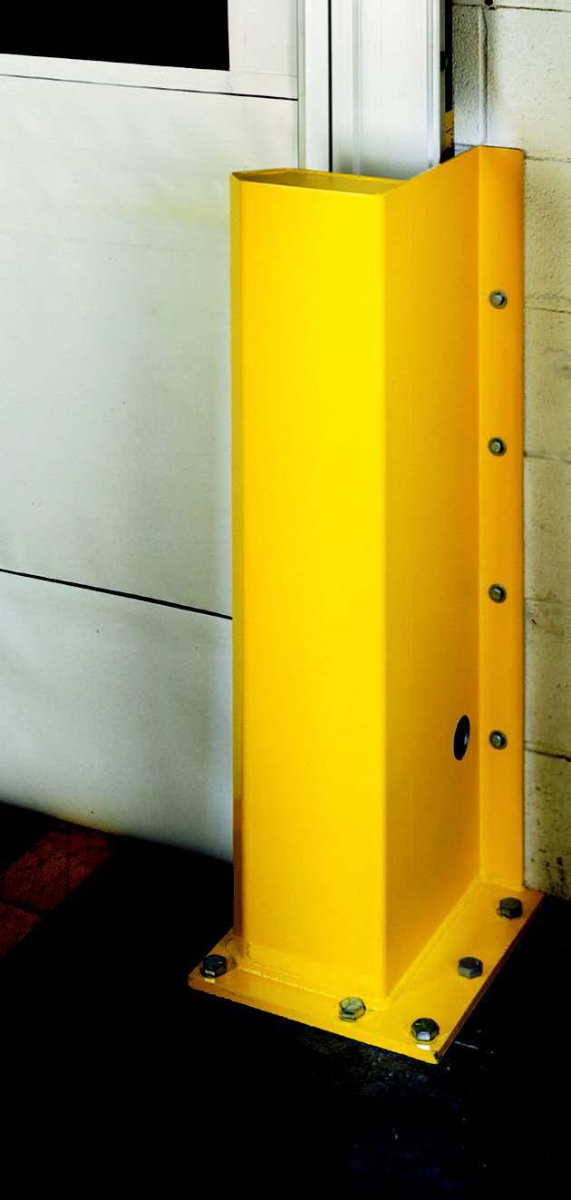Warden PR - Nẹp chắn bảo vệ khung cửa High speed doors