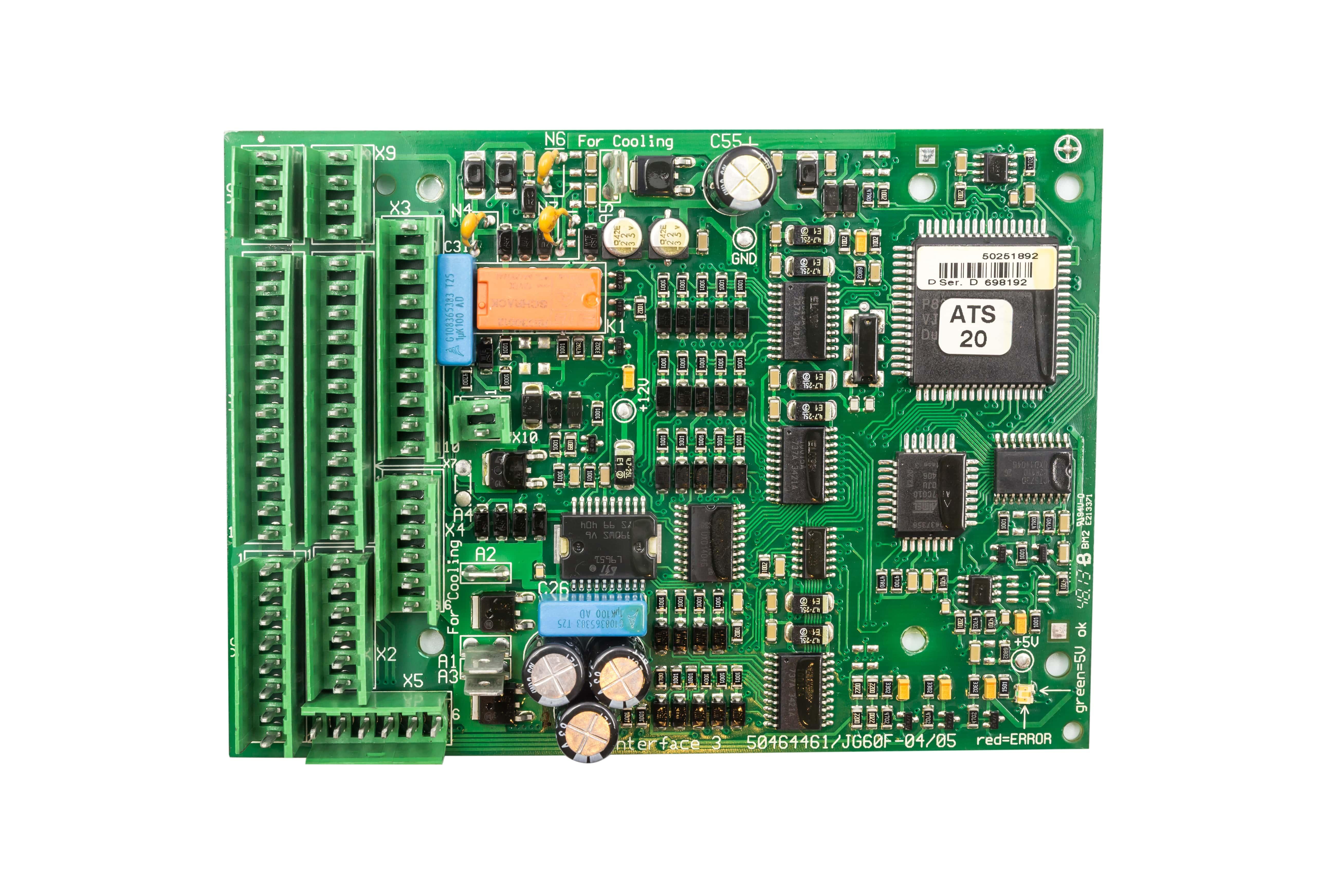 Bo Mạch Xe Nâng Điện Counterbalance EFG 216/320n